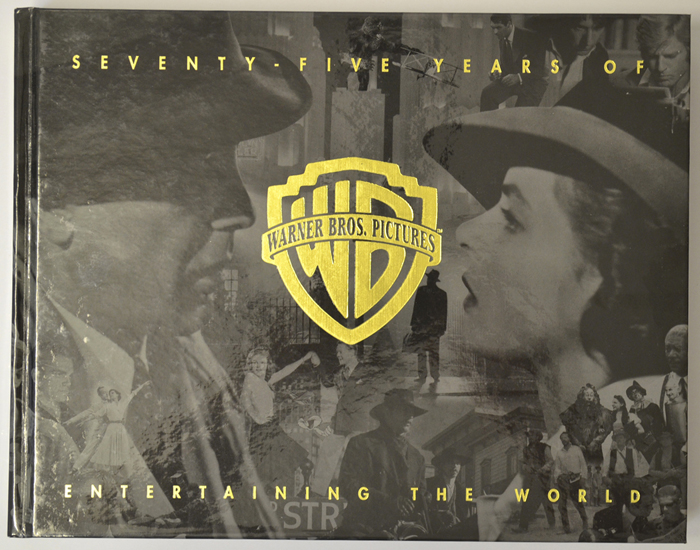 75 Years Of Warner Bros. Pictures Entertaining The World - Hardcover Book