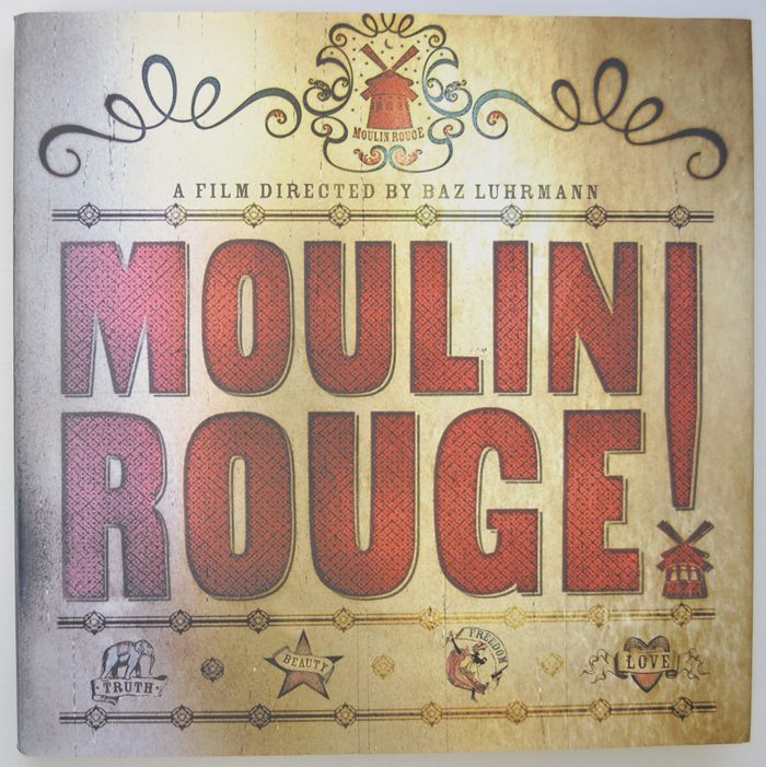 Moulin Rouge - Hardcover Book