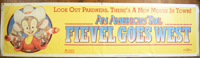 An American Tail 2 : Fievel Goes West <p><i> (Cinema Banner) </i></p>