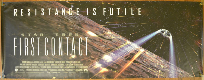 Star Trek : First Contact <p><i> (Cinema Banner) </i></p>