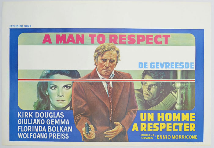 A Man To Respect <p><i> (Original Belgian Movie Poster) </i></p>