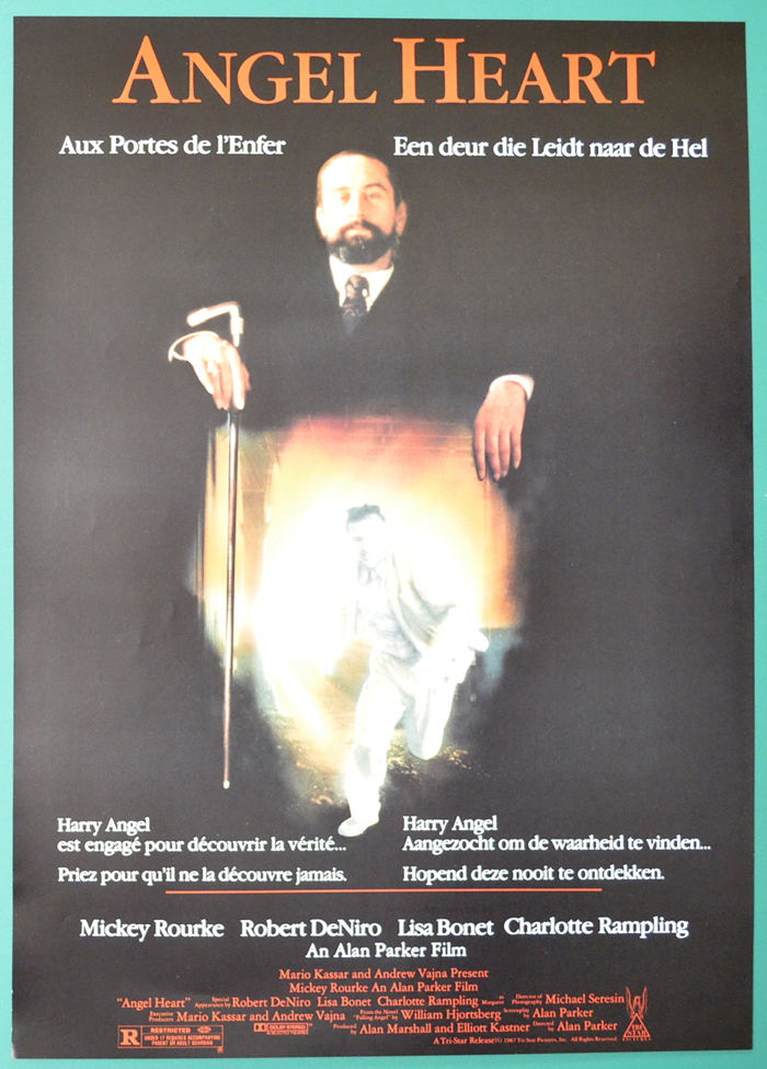 Angel Heart <p><i> (Original Belgian Movie Poster) </i></p>