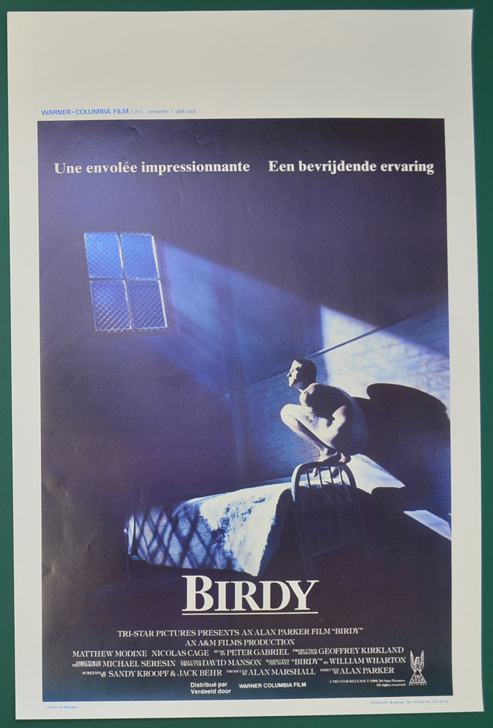 Birdy <p><i> (Original Belgian Movie Poster) </i></p>