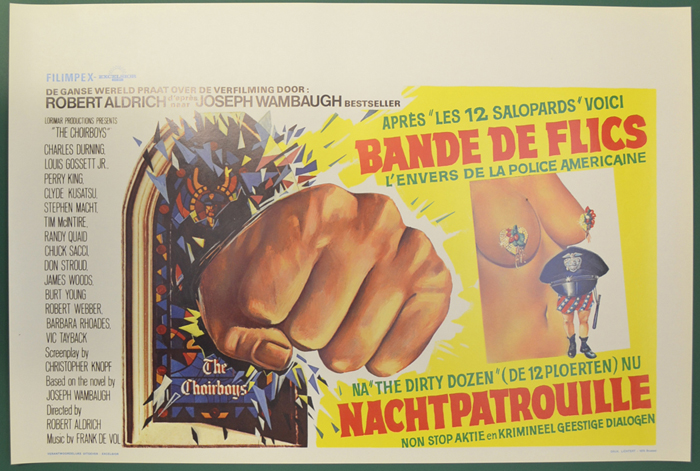 Choirboys (The) <p><i> (Original Belgian Movie Poster) </i></p>
