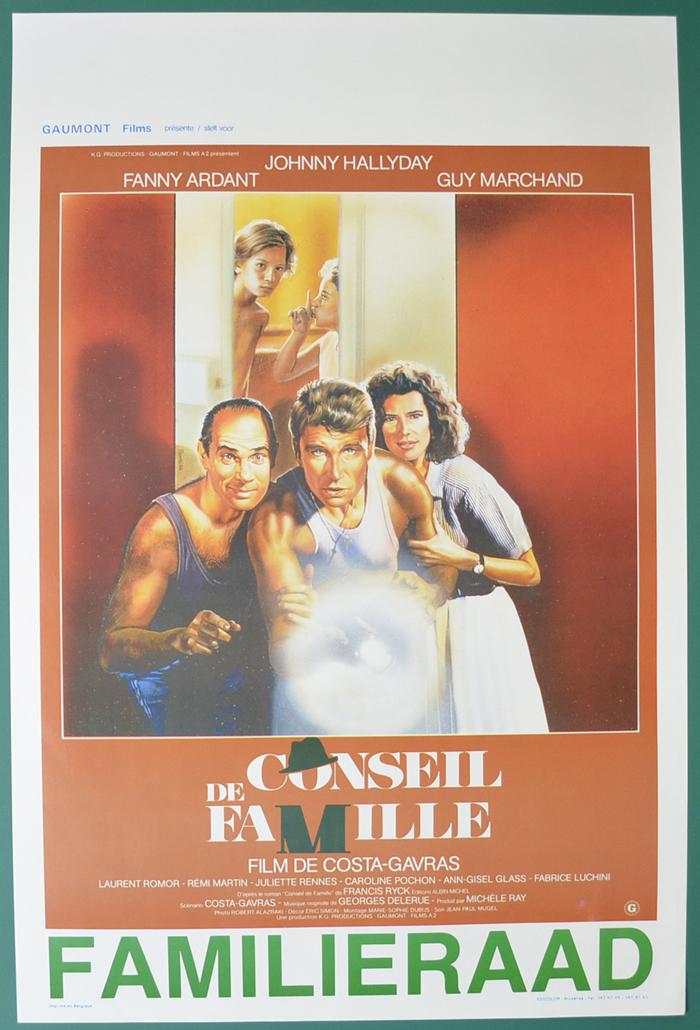 Conseil de famille <p><i> (Original Belgian Movie Poster) </i></p>