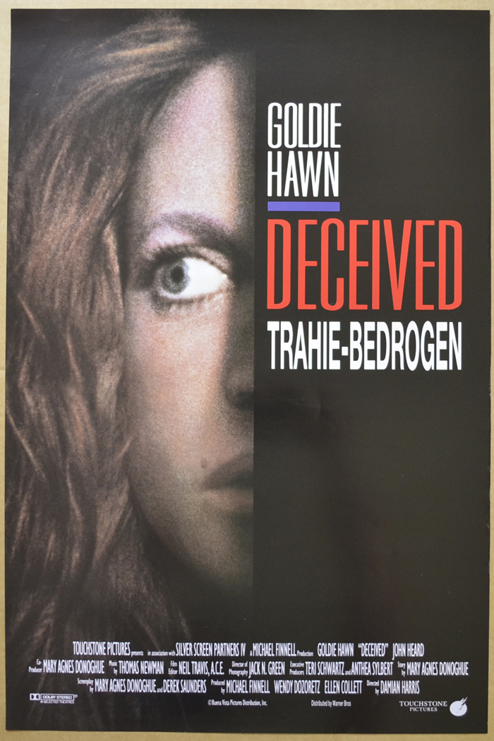 Deceived <p><i> (Original Belgian Movie Poster) </i></p>