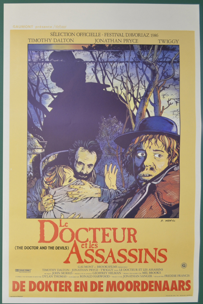 Doctor And The Devils (The) <p><i> (Original Belgian Movie Poster) </i></p>