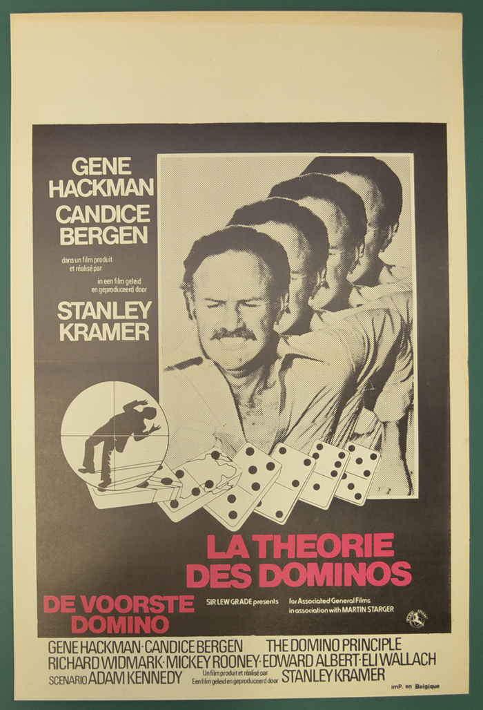 Domino Principle (The) <p><i> (Original Belgian Movie Poster) </i></p>