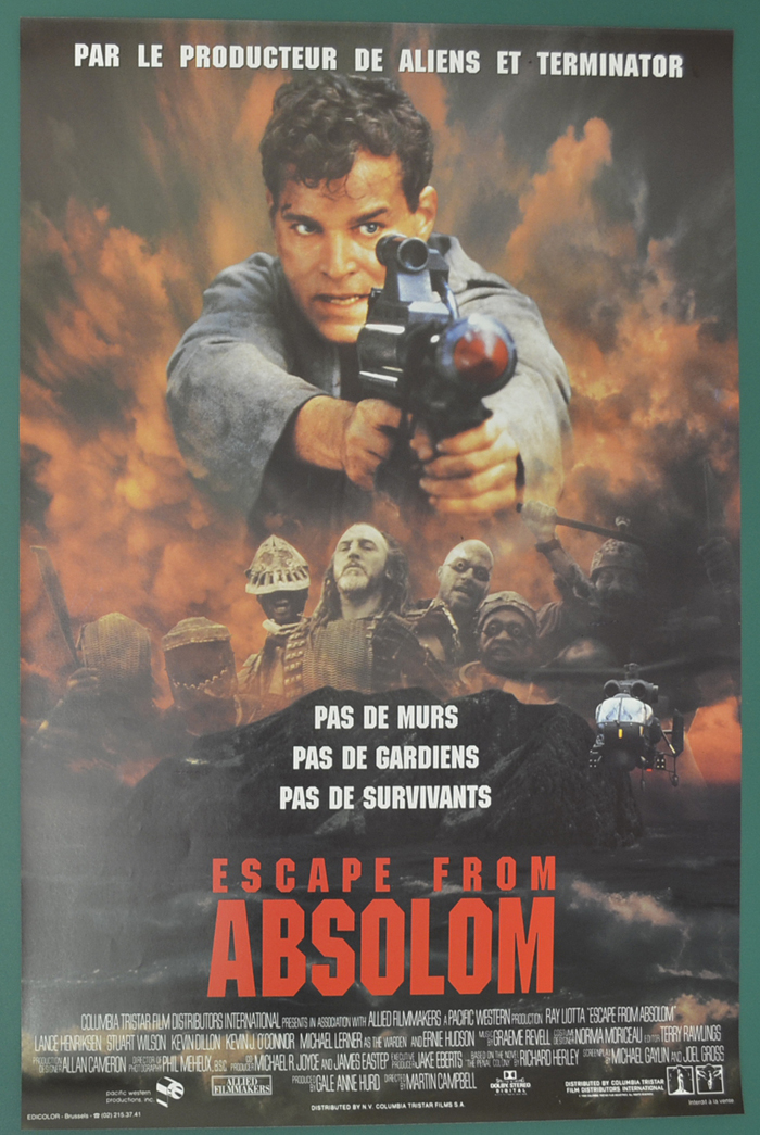 Escape From Absolom <p><i> (Original Belgian Movie Poster) </i></p>