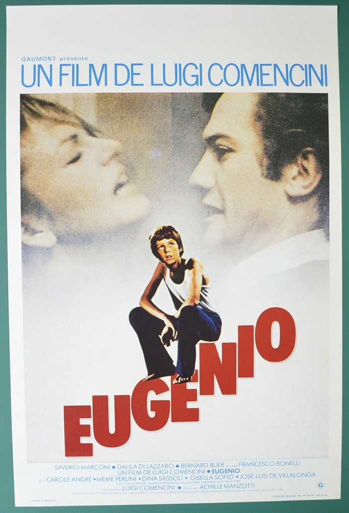 Eugenio  <p><i> (Original Belgian Movie Poster) </i></p>
