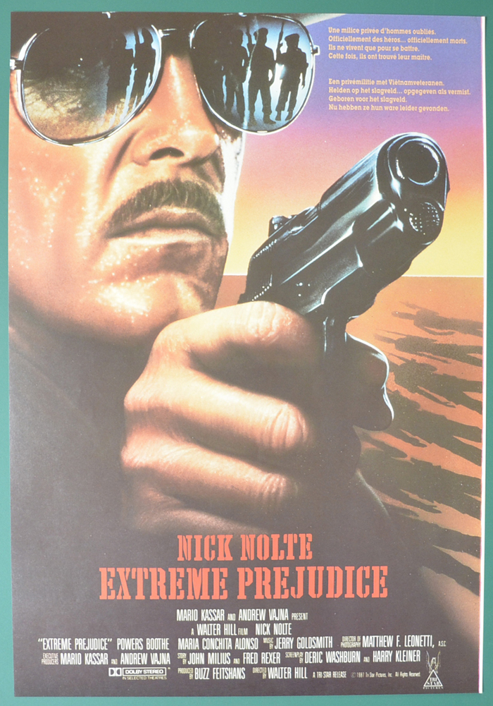 Extreme Prejudice <p><i> (Original Belgian Movie Poster) </i></p>