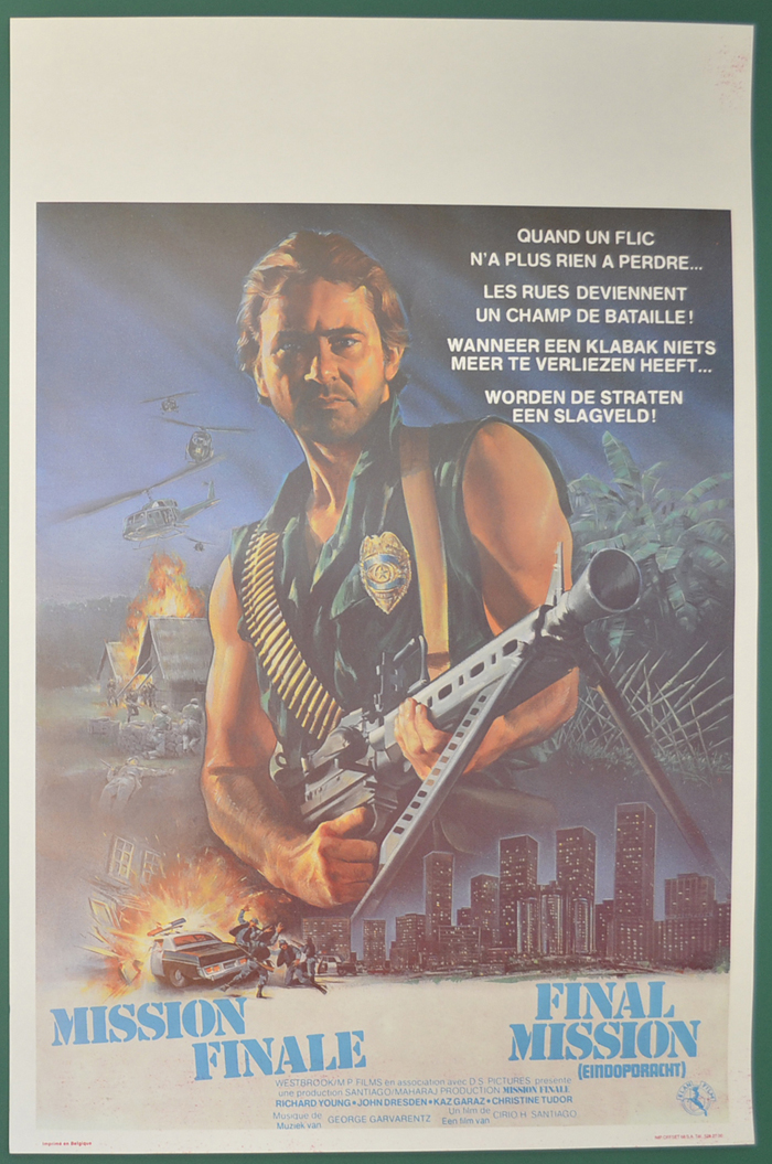 Final Mission <p><i> (Original Belgian Movie Poster) </i></p>
