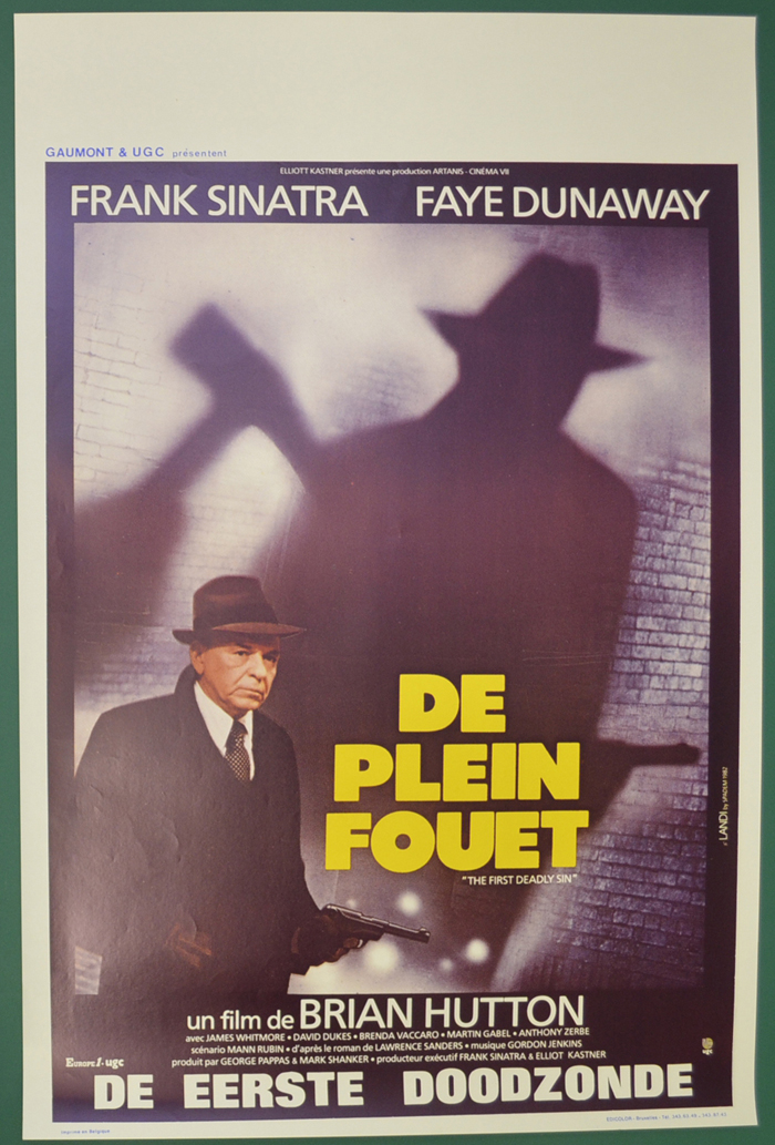First Deadly Sin (The) <p><i> (Original Belgian Movie Poster) </i></p>