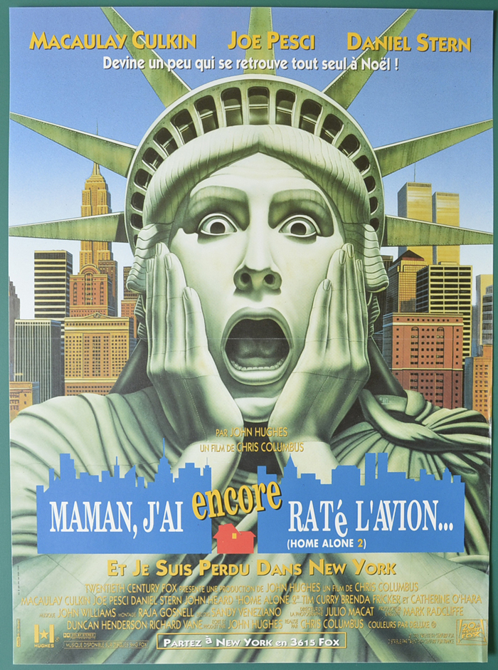 Home Alone 2 : Lost In New York <p><i> (Original Belgian Movie Poster) </i></p>