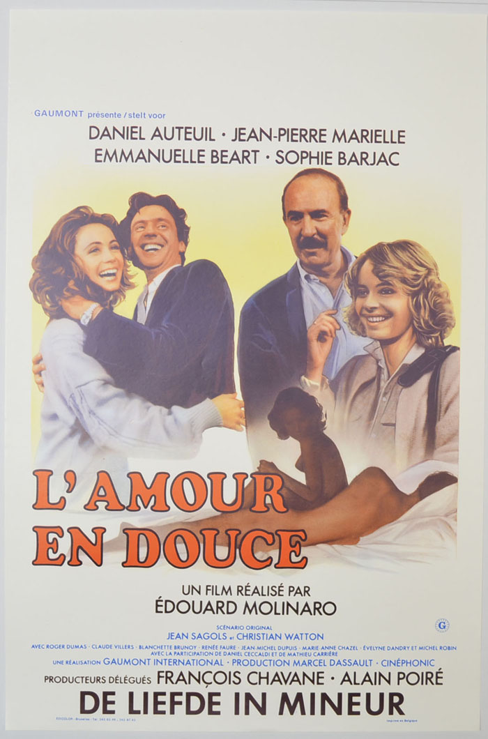 L'amour en douce <p><i> (Original Belgian Movie Poster) </i></p>