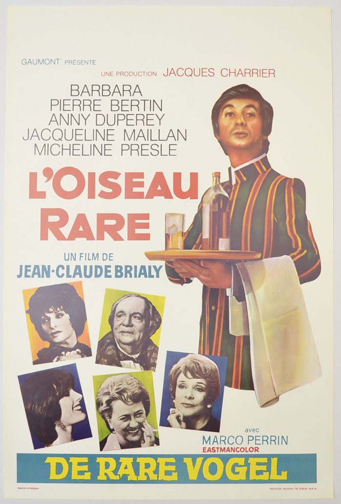 L'Oiseau Rare <p><i> (Original Belgian Movie Poster) </i></p>
