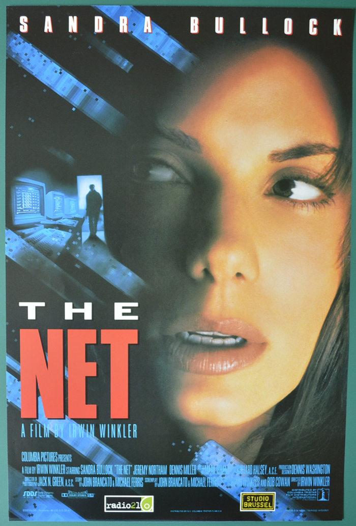 Net (The) <p><i> (Original Belgian Movie Poster) </i></p>