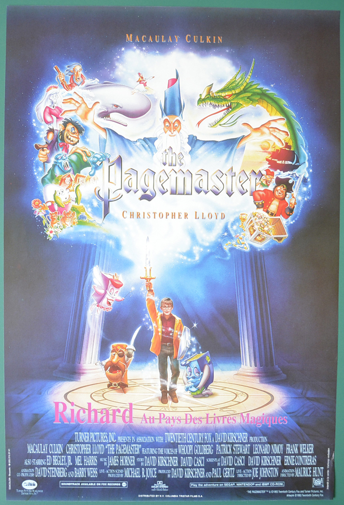 Pagemaster (The) <p><i> (Original Belgian Movie Poster) </i></p>
