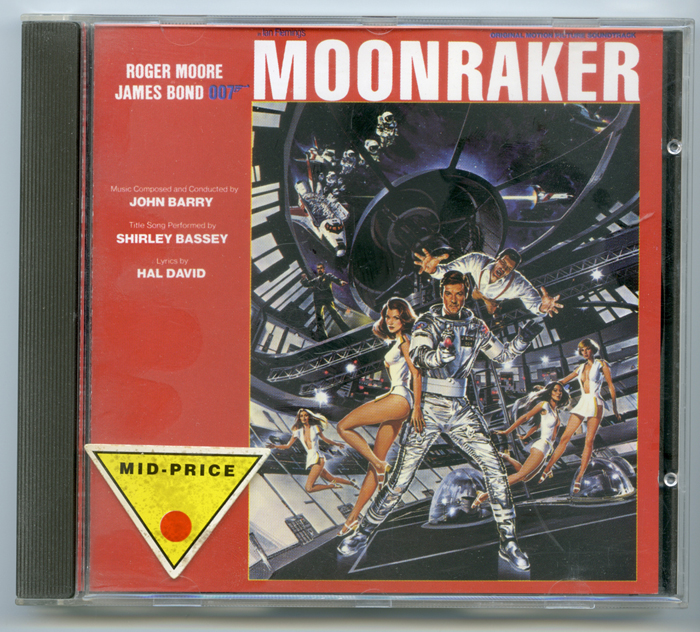 007 : Moonraker <p><i> Original CD Soundtrack </i></p>