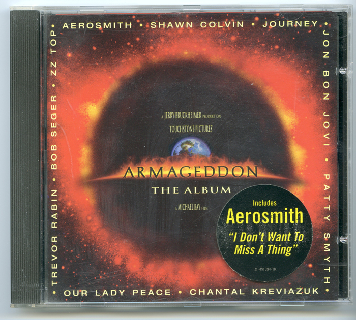 Armageddon - The Album <p><i> Original CD Soundtrack </i></p>