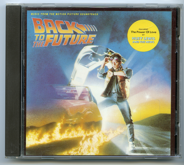 Back To The Future <p><i> Original CD Soundtrack </i></p>