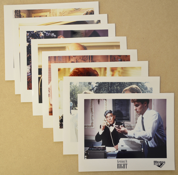 Getting It Right <p><a> Set of 8 Original Colour Front Of House Stills / Press Stills  </i></p>
