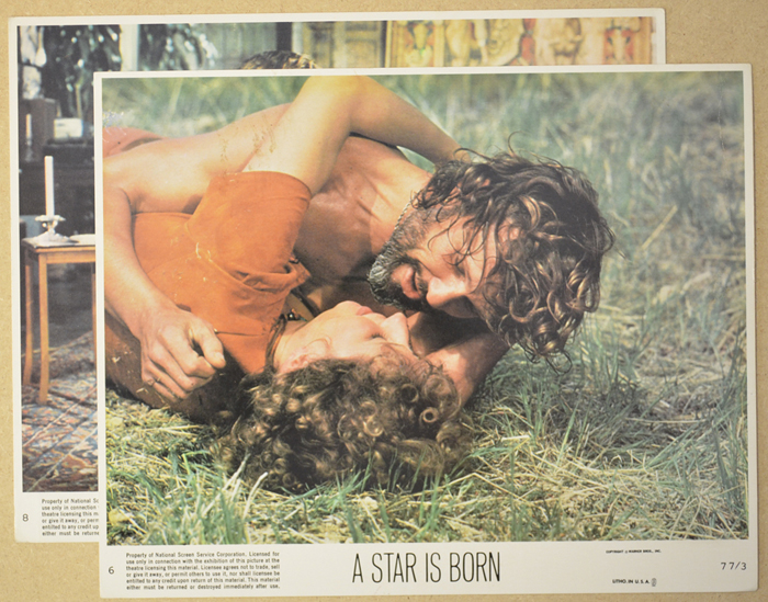 A Star Is Born <p><a> 2 Original Colour Front Of House Stills / Lobby Cards </i></p>