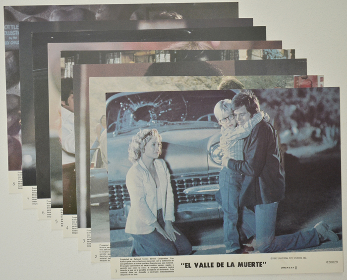 Death Valley <p><a> Set of 8 Original Colour Front Of House Stills / Lobby Cards  </i></p>