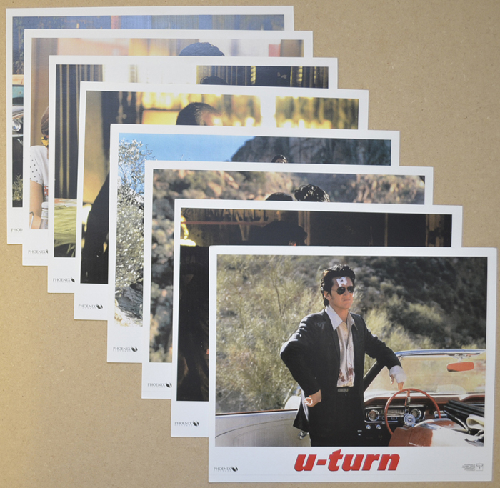 U-Turn <p><a> Set of 8 Original Colour Front Of House Stills / Lobby Cards  </i></p>