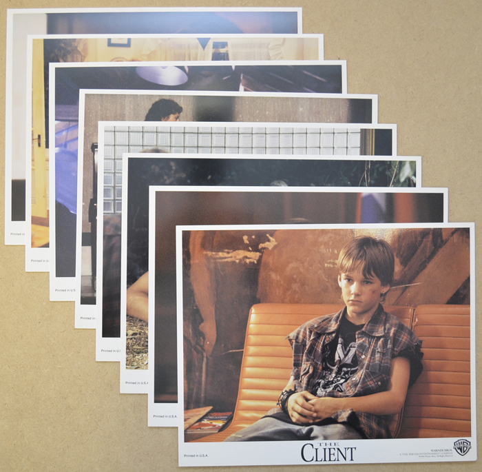 Client (The) <p><a> Set of 8 Original Colour Front Of House Stills / Press Stills  </i></p>