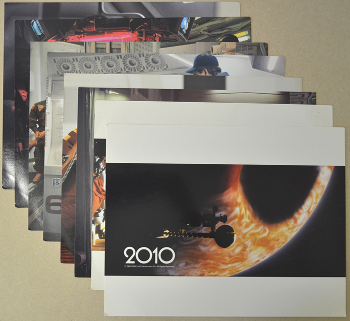 2010 : The Year We Make Contact <p><i> Set Of 8 Cinema Lobby Cards </i></p>