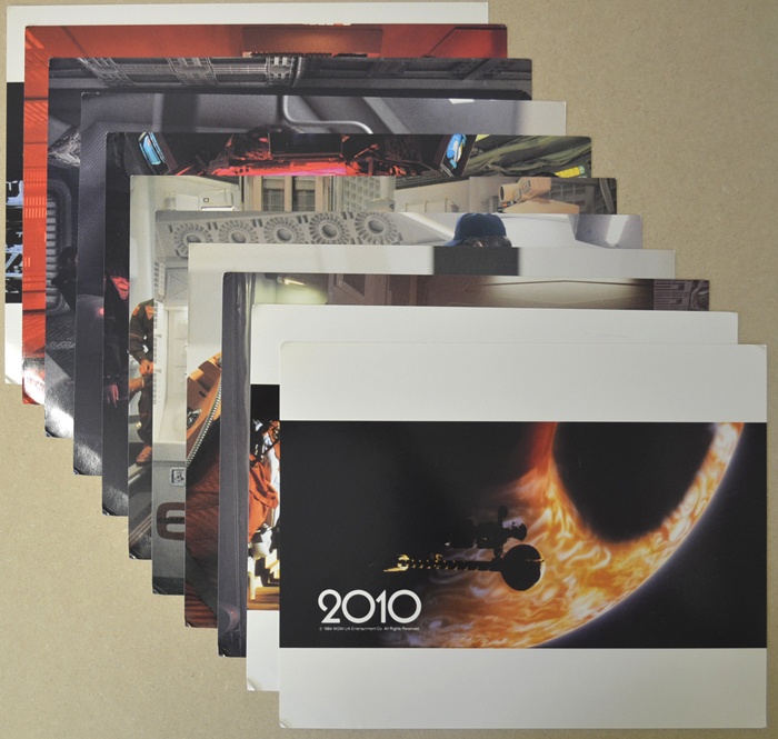 2010 : The Year We Make Contact <p><i> Deluxe Set Of 11 Cinema Lobby Cards </i></p>
