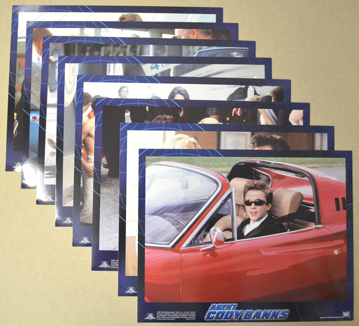 Agent Cody Banks <p><i> Set Of 8 Cinema Lobby Cards </i></p>