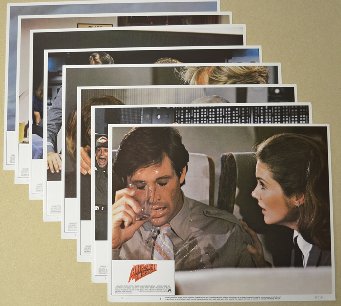 Airplane II - The Sequel <p><i> Set Of 8 Cinema Lobby Cards </i></p>