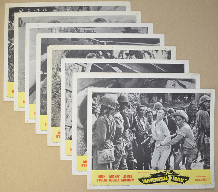 Ambush Bay <p><i> Set Of 8 Cinema Lobby Cards </i></p>