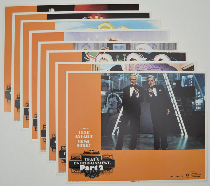 That's Entertainment Part 2 <p><a> Set Of 8 Cinema Lobby Cards </i></p>