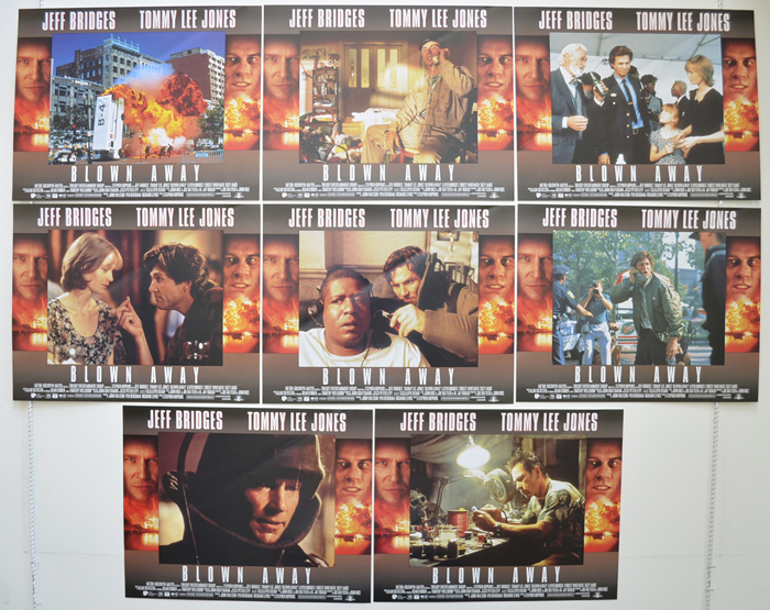 Blown Away <p><a> Set Of 8 Cinema Lobby Cards </i></p>