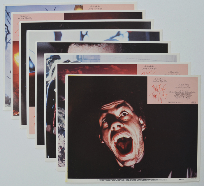 Pink Floyd The Wall <p><a> Set Of 8 Cinema Lobby Cards </i></p>