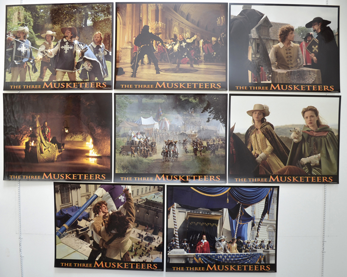 Three Musketeers (The) <p><a> Set Of 8 Cinema Lobby Cards </i></p>