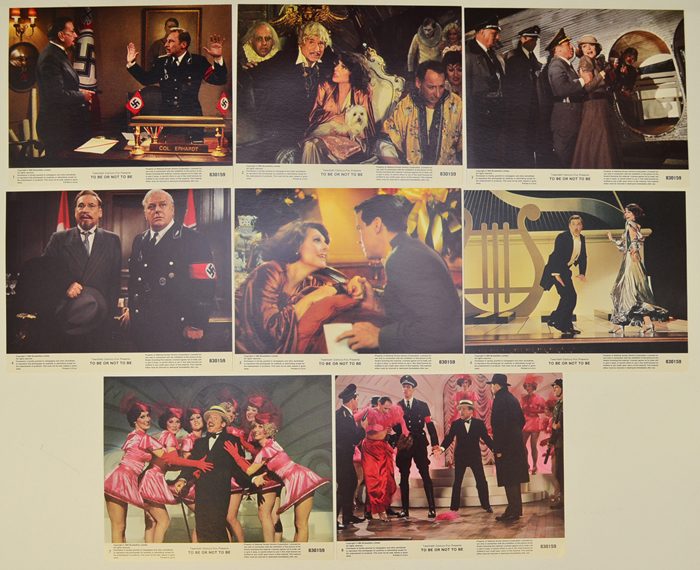 To Be Or Not To Be <p><a> Set of 8 Original Lobby Cards / Colour Front Of House Stills </i></p>