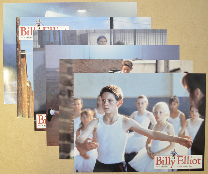Billy Elliot <p><i> Set Of 6 French Cinema Lobby Cards </i></p>