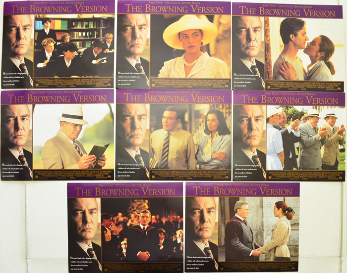 Browning Version (The) <p><a> Set Of 8 USA Lobby Cards </i></p>