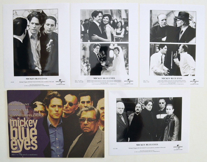 Mickey Blue Eyes <p><i> Original Press Kit with 4 Black & White Stills </i></p>