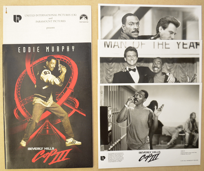Beverly Hills Cop III <p><i> Original Press Kit with 3 Black & White Stills </i></p>