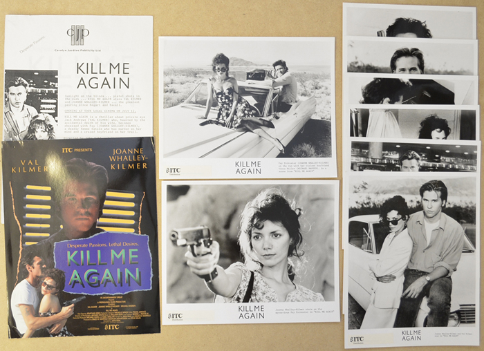 Kill Me Again <p><i> Original Press Kit with 8 Black & White Stills </i></p>