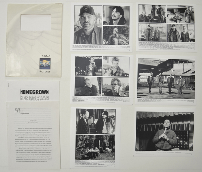 Homegrown <p><i> Original Press Kit with 6 Black & White Stills </i></p>