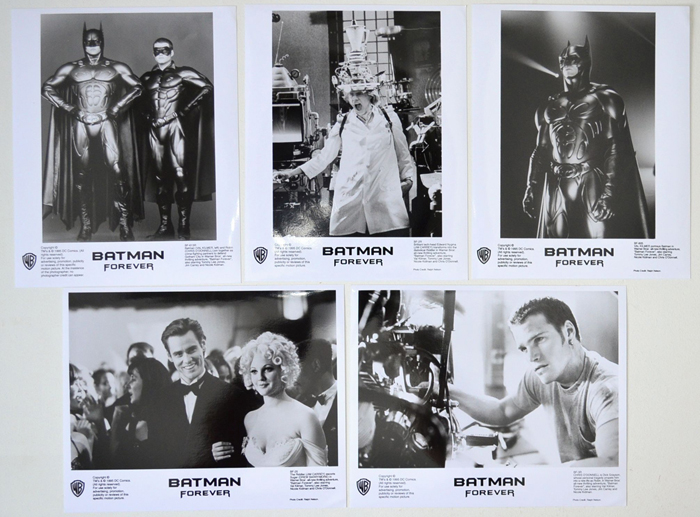 Batman Forever <p><i> 5 Black and White Stills </i></p>