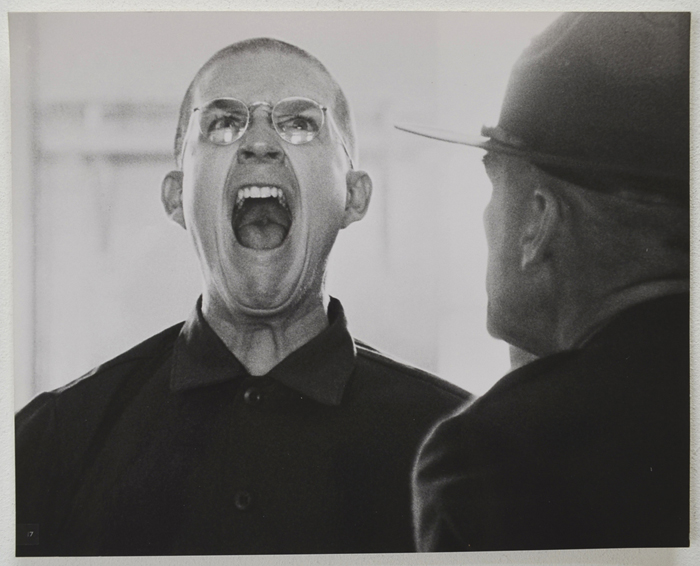 Full Metal Jacket <p><a> Original Black And White Press Still </i></p>