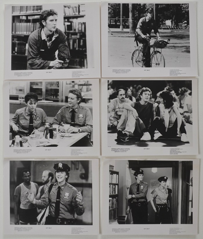 Off Beat <p><a> 6 Original Black And White Press Stills </i></p>