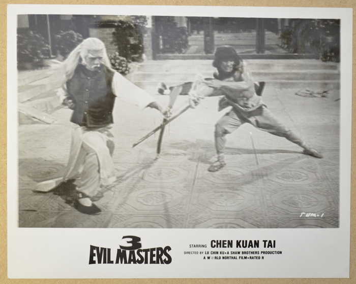 3 Evil Masters <p><i> Original Black And White Press Still </i></p>